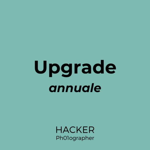 Upgrade annuale