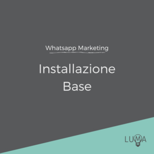 WhatsApp Marketing Installazione Base